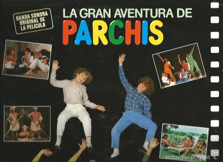 LP PARCHIS : LA GRAN AVENTURA DE PARCHIS ( BANDA SONORA DE CANCIONES) (Música - Discos - LPs Vinilo - Música Infantil)