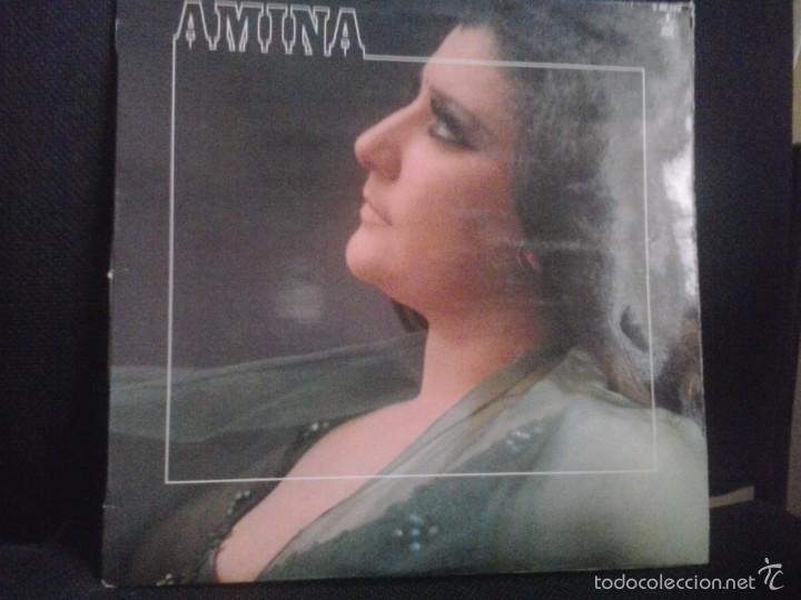 AMINA - LP 1982 (Música - Discos - LP Vinilo - Flamenco, Canción española y Cuplé)