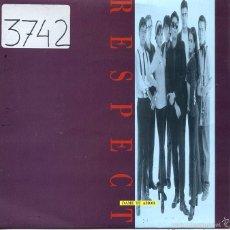 Discos de vinilo: RESPECT / DAME TU AMOR (SINGLE PROMO 1992). Lote 58574367