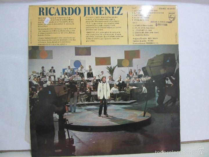 Discos de vinilo: Ricardo Jimenez - Triunfador Concurso TVE La Gran Ocasion - 1972 - NM+/VG+ - Foto 3 - 58577948