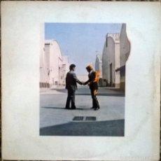 Discos de vinilo: PINK FLOYD. WISH YOU WERE HERE. EMI-HARVEST, SPAIN. 1975 LP + ENCARTE 1J 066-96918. Lote 58581805