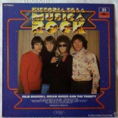 Discos de vinilo: JULIE DRISCOLL BRIAN AUGER & THE TRINITY, HISTORIA DE LA MUSICA ROCK 21 (POLYDOR) LP. Lote 58581827
