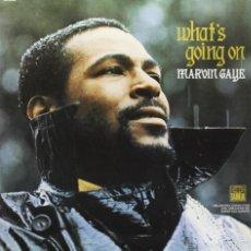 Discos de vinilo: LP MARVIN GAYE WHATS GOING ON SOUL VINYL 180G + MP3. Lote 211774286