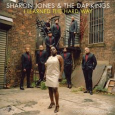 Discos de vinilo: LP SHARON JONES AND THE DAP KINGS I LEARNED THE HARD WAY SOUL VINILO 180G + MP3. Lote 58582974