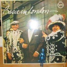 Discos de vinilo: COUNT BASIE – BASIE IN LONDON - LP VERVE - M33 - MV 2514 - REEDICION MONO DE LP 1956. Lote 58589343