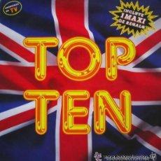 Disques de vinyle: TOP TEN, SINGLE BLANCO Y NEGRO 1989. Lote 58590076