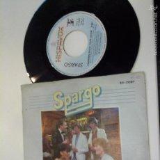 Discos de vinilo: MUSICA SINGLE SPARGO ONE NIGHT AFFAIR OJ.C. Lote 58591271