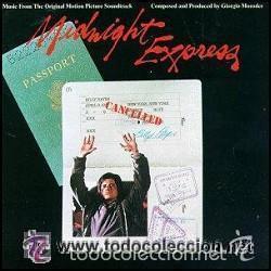 EL EXPRESO DE MEDIANOCHE ( B.S.O ) LP ESPAÑA 1987 (Música - Discos - LP Vinilo - Bandas Sonoras y Música de Actores )