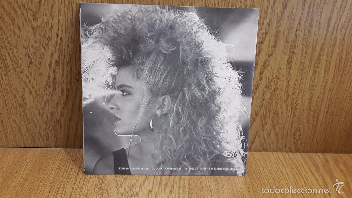 Discos de vinilo: SCANPOL. BASTA DE AMOR. SINGLE / PERFIL - 1987 / CALIDAD LUJO. ****/**** - Foto 2 - 58595050