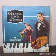 Discos de vinilo: ALBUM 3 VINILOS TANGO SELECCIONES CIRCULO TANGOS ARGENTINA EXCELENTE ESTADO LP VINILO ACETATO D2. VG. Lote 58597502