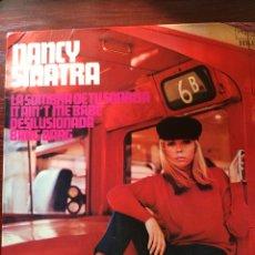Discos de vinilo: NANCY SINATRA-LA SOMBRA DE TU SONRISA+3-EP. Lote 58598034