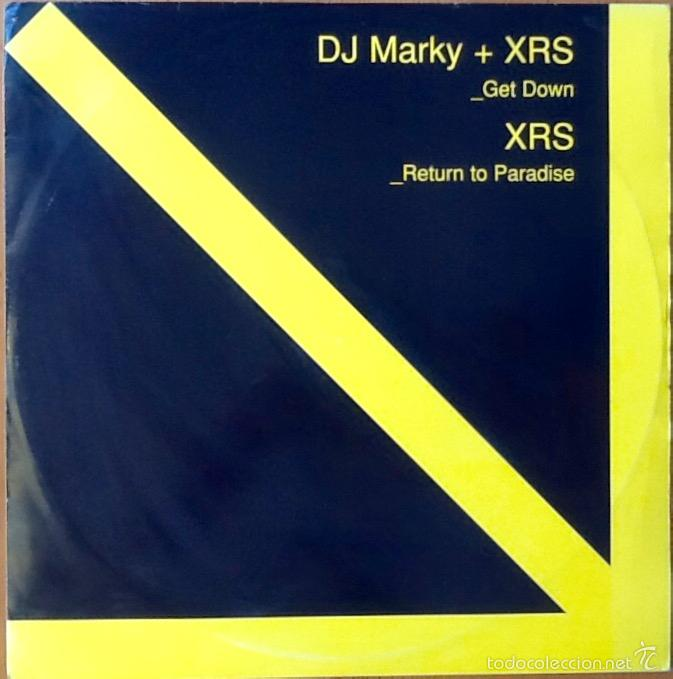 Discos de vinilo: DJ MARKY + XRS : GET DOWN / RETURN TO PARADISE [UK 2003] 12 - Foto 1 - 55927822