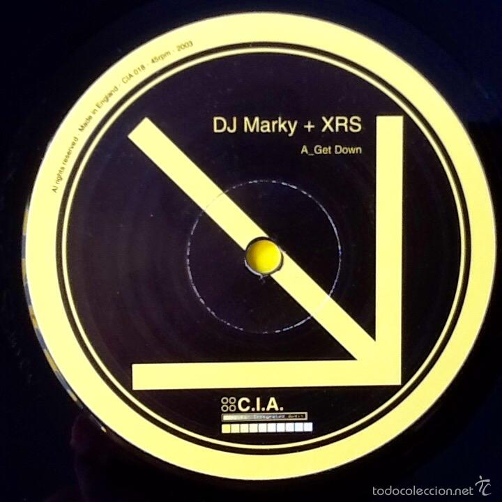 Discos de vinilo: DJ MARKY + XRS : GET DOWN / RETURN TO PARADISE [UK 2003] 12 - Foto 3 - 55927822