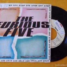 Discos de vinilo: FURIOUS FIVE, THE - STEP OFF (ZAFIRO) SINGLE PROMOCIONAL ESPAÑA. Lote 58600856