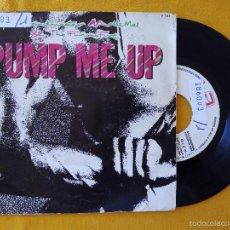 Discos de vinilo: GRANDMASTER MELLE MEL & FURIOUS FIVE, PUMP ME UP (ZAFIRO) SINGLE PROMOCIONAL ESPAÑA. Lote 178874857