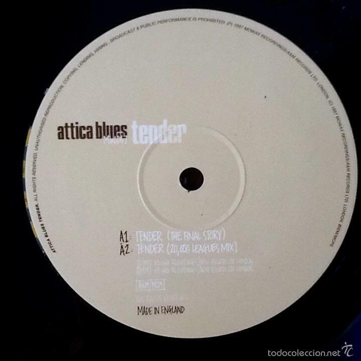Discos de vinilo: ATTICA BLUES : TENDER [UK 1997] EP 12' - Foto 3 - 55717394