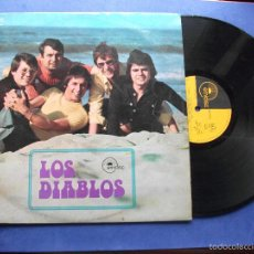 Discos de vinilo: LOS DIABLOS PRODUCTORA EMIDISC LP 1972 OH JULY UNA MAÑANA UN RAYO DE SOL PEPETO. Lote 58604490