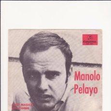 Discos de vinilo: MANOLO PELAYO - 1967 - PROMOCIONAL. Lote 58606250