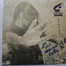 Discos de vinilo: CORN FLAKES - CHILDISH - LP 1992 + INSERT- FIRMADO POR LA BANDA- EXC. ESTADO.. Lote 58606280