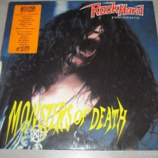 Discos de vinilo: ROCK HARD MONSTERS OF DEATH - MORBID ANGEL,IMMOLATION,OBITUARY,MORGOTH....- LP. Lote 153463981