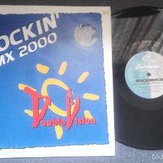 Discos de vinilo: DOUBLE VISION - KNOCKIN´RMX 2000, MAXISINGLE CONTRASEÑA RECORDS DE 1998 ,RF-195- 3 VERSIONES. Lote 58608265