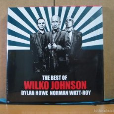 Discos de vinilo: WILKO JOHNSON - THE BEST OF WILKO JOHNSON, DYLAN HOWE AND NORMAN WATT-ROY - CADIZ MUSIC CADIZLP131. Lote 58612806