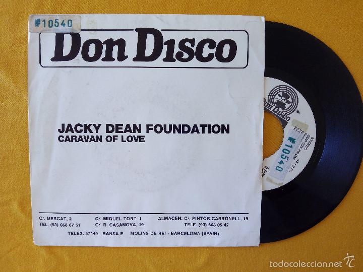 JACKY DEAN FOUNDATION, CARAVAN OF LOVE (DON DISCO) SINGLE PROMOCIONAL ESPAÑA (Música - Discos - Singles Vinilo - Disco y Dance)