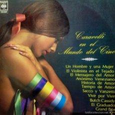 Discos de vinilo: LP DE CARAVELLI Y SU ORQUESTA AÑO 1972 EDICIÓN ARGENTINA REEDICIÓN. Lote 26419936