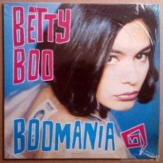 Discos de vinilo: BETTY BOO: BOOMANIA, LP DRO 4D-0732 E, 1990. CON ENCARTE. M/NM. Lote 58616677