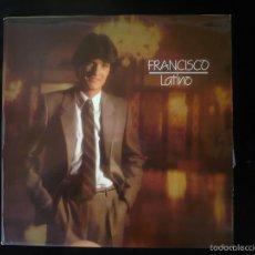 Discos de vinilo: FRANCISCO, LATINO LP COMO NUEVO. Lote 58619780