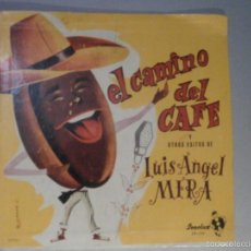 Discos de vinilo: DISCO - VINILO - LP - LUIS ANGEL MERA - EL CAMINO DEL CAFE - SONOLUX - COLOMBIA - BOLEROS AÑOS 50. Lote 58623145