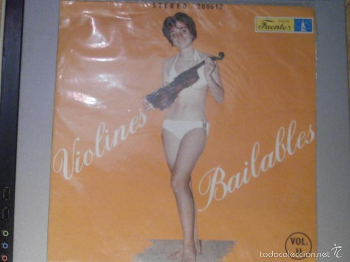 Discos de vinilo: DISCO - VINILO - LP - VIOLINES BAILABLES - VOL. II - DISCOS FUENTES - CUMBIAS, PASEAITOS - - Foto 3 - 58623706