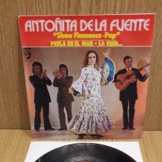 Discos de vinilo: ANTOÑITA DE LA FUENTE. PERLA EN EL MAR. SINGLE / DISCOPHON - 1973 / LUJO. ****/****. Lote 58624424