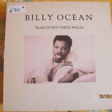Discos de vinilo: LP - BILLY OCEAN - TEAR DOWN THESE WALLS (SPAIN, JIVE RECORDS 1988). Lote 58625422