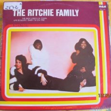 Dischi in vinile: LP - THE RITCHIE FAMILY - SAME (SPAIN, RCA RECORDS 1978). Lote 58625653