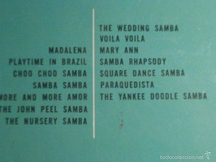 Discos de vinilo: DISCO - VINILO - LP - EDMUNDO ROS Y SU ORQUESTA - ALBUM DE SAMBAS - LONDON - LL.1117 - Foto 4 - 58626162