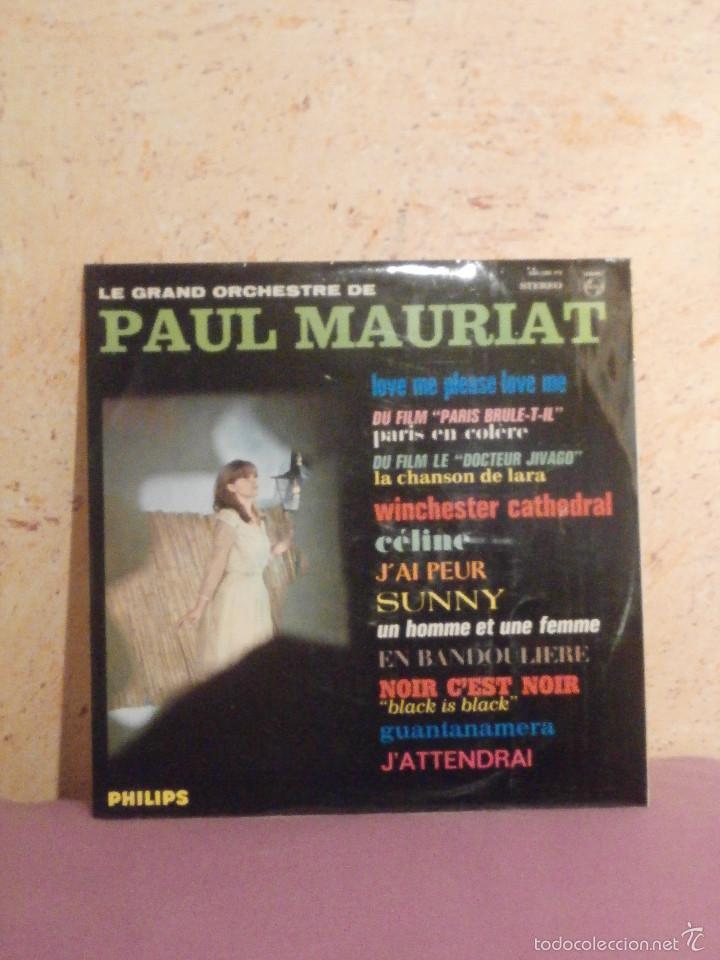 Discos de vinilo: DISCO - VINILO - LP - PAUL MAURIAT - LA GRAN ORQUESTA DE - ALBUM Nº 4 - PHILIPS - 1966 - Foto 2 - 58626347