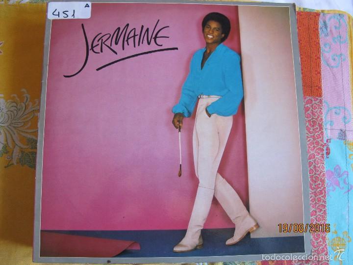 LP - JERMAINE JACKSON - JERMAINE (SPAIN, MOTOWN RECORDS 1980) (Música - Discos - LP Vinilo - Funk, Soul y Black Music)