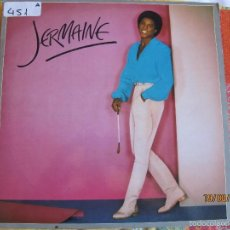 Discos de vinilo: LP - JERMAINE JACKSON - JERMAINE (SPAIN, MOTOWN RECORDS 1980). Lote 58626529