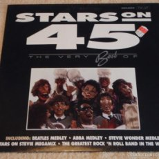 Discos de vinilo: STARS ON 45 THE VERY BEST OF BEATLES MEDLEY - ABBA MEDLEY - STEVIE WONDER MEDLEY ... ) 1991-HOLANDA. Lote 58626666