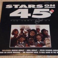 Discos de vinilo: STARS ON 45 THE VERY BEST OF BEATLES MEDLEY - ABBA MEDLEY - STEVIE WONDER MEDLEY ... ) 1991-HOLANDA. Lote 58626666
