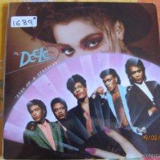 Dischi in vinile: LP - THE DEELE - EYES OF A STRANGER (SPAIN, ZAFIRO 1988). Lote 58626828