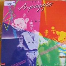 Disques de vinyle: LP - ARPEGGIO - LET THE MUSIC PLAY (SPAIN, POLYDOR 1978). Lote 58627126