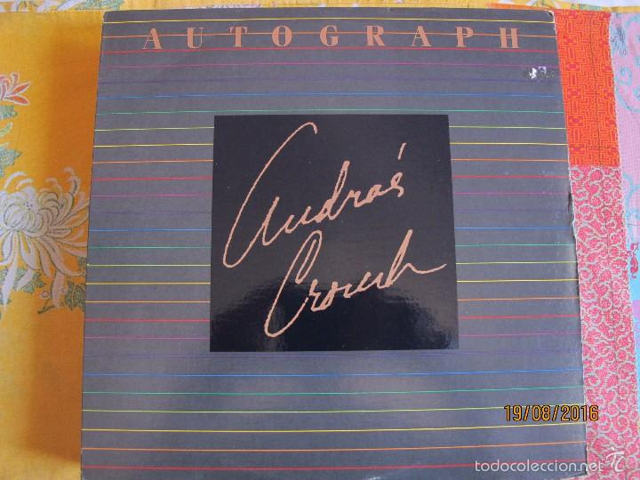 LP - ANDRAE CROUCH - AUTOGRAPH (USA, LIGHT RECORDS 1986) (Música - Discos - LP Vinilo - Funk, Soul y Black Music)