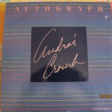 Discos de vinilo: LP - ANDRAE CROUCH - AUTOGRAPH (USA, LIGHT RECORDS 1986). Lote 58627178