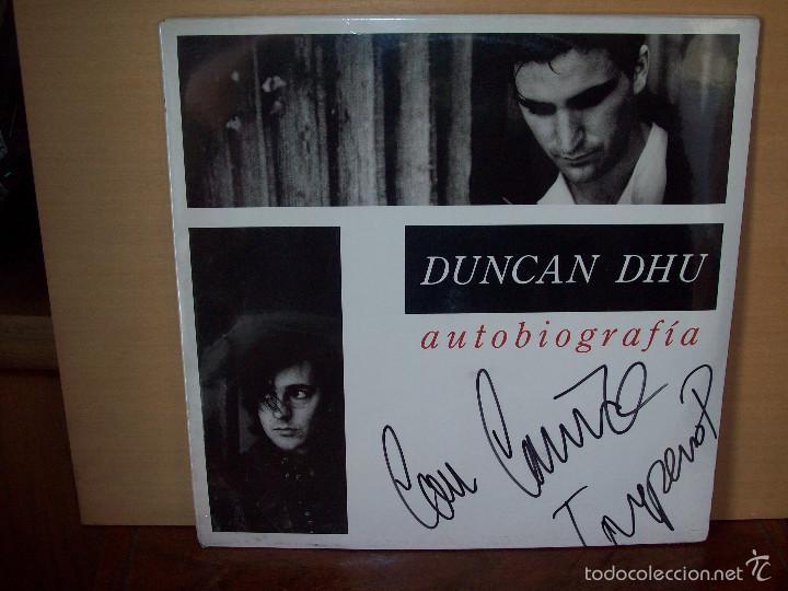 DUNCAN DHU - AUTOBIOGRAFIA -DOBLE LP FIRMADO (Música - Discos - LP Vinilo - Grupos Españoles de los 70 y 80)