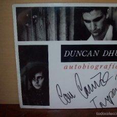 Discos de vinilo: DUNCAN DHU - AUTOBIOGRAFIA -DOBLE LP FIRMADO. Lote 58628117
