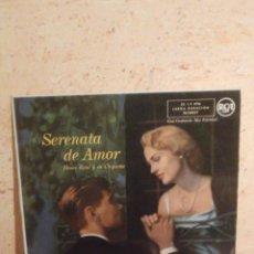 Discos de vinilo: DISCO - VINILO - LP - HENRY RENÉ Y SU ORQUESTA -SERENATA DE AMOR - RCA - AÑOS 50. Lote 58628230