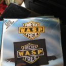 Discos de vinilo: SINGLE WASP - FOREVER FREE - CAPITOL UK 1989 VG+/NM - LTD. ED. PATCH. Lote 58628576