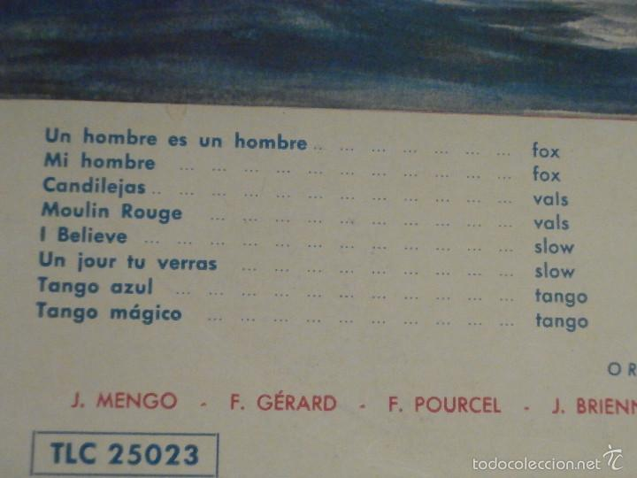 Discos de vinilo: DISCO - VINILO - LP - VELADA DE GALA A BORDO DEL LIBERTÉ - TELEFUNKEN - AÑOS 1950 - Foto 2 - 58628858
